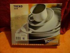 Schönes Kaffeeservice mit Tellern Trend Weiß von der Thomas Rosenthal Group