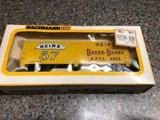 HO Scale Bachmann Reefer Car Marked Heinz 57 Baked Beans