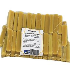 Pure Australian Beeswax Cosmetic Grade Food Wrap Candle Soaps Small Blocks 900g