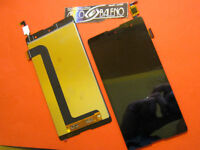 P1 DISPLAY +TOUCH SCREEN per WIKO MOBILE ROBBY SCHERMO RICAMBIO VETRO NERO