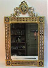 "Fine Antique FRENCH GILT BRONZE Framed Beveled Mirror  34"" x 21""  c. 1920"