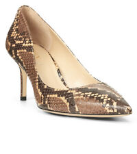 Ralph Lauren, Lanette Leather Printed Pump, Size 9.5, NEW