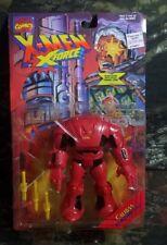 WRONG CARD ERROR NIMROD ON CALIBAN CARD 1995 Marvel X-Men X-Force Toy Biz Figure