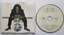 ⭐⭐ Give Me The Light ⭐⭐ 5 Track CD ⭐⭐ ICE MC ⭐⭐ Good + ⭐⭐