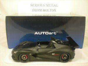 AUTOART 75391 LOTUS 3  ELEVEN ROADSTER MATT BLACK  1:18 SCALE