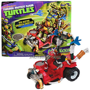 Year 2013 Teenage Mutant Ninja Turtles TMNT Vehicle Set : GRASS KICKER