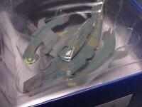 Star Trek Breen Warship Ship Starships Collection Display Mini Box Vol 69
