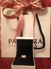 Genuine Disney Pandora Cinderella Heart Dream Is A Wish Charm With Box & Bag
