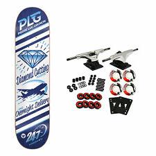 Darkstar Skateboard Complete Plg Industry 8.375' Raw Trucks 52mm Wheels