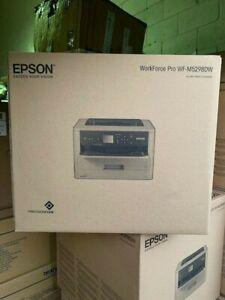 Epson WF-M5298DW WorkForce Pro Wireless Air-print Mono Inkjet Printer new boxed