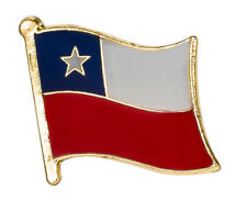 CHILE - Flag Lapel Pin Badge High Quality Gloss Enamel