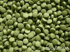 ca.500St Welstabletten Bodentabletten grün Futtertabletten Fischfutter