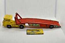 Matchbox SuperkINGS K-11 DAF CAR TRANSPORTER 1970 LESNEY PRODUCTS ENGLAND