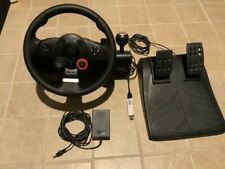Logitech Driving Force GT Complete with Brook PS3 to PS4 Adapter - GREAT!