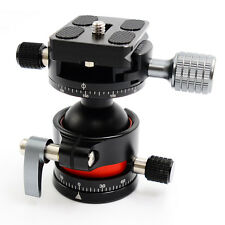 E2 Tripod Ballhead / Panoramic Head with Quick Release Plate For Camera Tripod