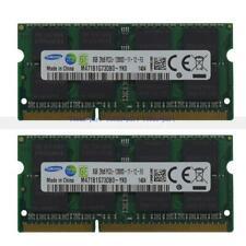New 16GB 2X8GB Laptop Memory Notepad RAM PC3L-12800 DDR3L-1600MHZ 204PIN SO-DIMM