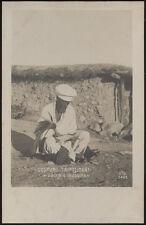 cartolina militare TRIPOLITANIA costumi-vecchio indovino