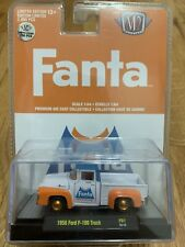 2020 M2 MACHINES FANTA 1956 FORD F100 DELIVERY TRUCK CHASE LIMITED EDITION 1/750