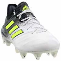 adidas Ace 17.1  Leather  Casual Soccer  Cleats - White - Mens