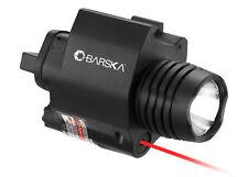 Red 5mw Laser Sight with 200 Lumen Flashlight by Barska, AU12392