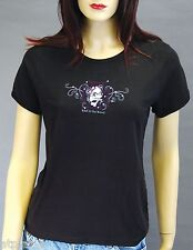 T-Shirt femme MC BAD TO THE BONE - Taille L - Style BIKER HARLEY