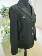 JONES NEW YORK COLLECTION, DARK GREEN PANTSUIT, SIZE 8