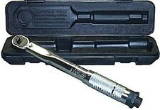 """1/4"""" Drive Adjustable Torque Wrench w/Case 20-200 in/lb Inch Pound Free Shipping"""