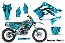 KAWASAKI KXF450 KX450F 12-15 CREATORX GRAPHICS KIT DECALS TRIBAL BOLTS BLINP