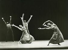 "PHOTO ORIGINALE : COMPAGNIE ALVIN AILEY BALLET ""Revelations"" Paris 1979"