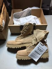NIB McRae US Army Military Desert Tan Hot Weather Combat Boots  Size 3 XW
