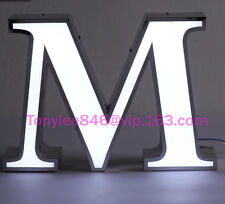Led FrontLit Channel Letters Store signs,Super Quality,sign tall 12 inches