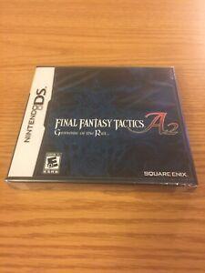 Final Fantasy Tactics A2: Grimoire of the Rift (Nintendo DS) New Sealed CIB