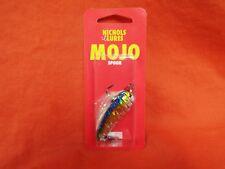 """NICHOLS LURES Mojo Spoon 1/2 oz 2 1/4"""" Bombshell Shad 2FS14-12"""
