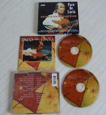 RARE 2 CD ALBUM ANTOLOGIA PACO DE LUCIA 25 TITRES 1997
