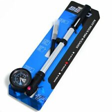 BETO MTB Bike Bicycle Suspension Shock Pump 400psi , Silver