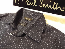 "PAUL SMITH Mens Shirt 🌍 Size 15"" (CHEST 40"") 🌎 RRP £95+ 📮 SMALL DRAWN HEARTS"