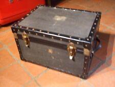 Genuine Vintage Boîte de rangement/Étui avec compartiments, 47x 34x 28 H CMS