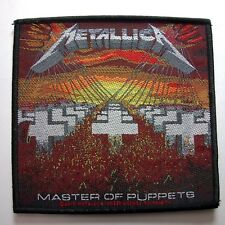 METALLICA MASTERS OF PUPPETS OFFICIAL WOVEN  PATCH
