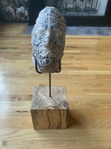 Maori Mask with Stand