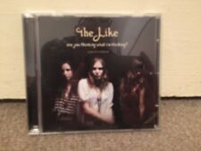 THE LIKE- Are You Thinking What I'm Thinking? Album Sampler Promo CD