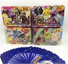MEGA Flash Pokemon  45PC in 2017 Tin Card Set ~ US SELLER