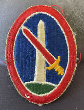 HQ Military District of Washington WWII Vintage Military Patch Authentic U.S.