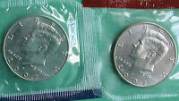 1980-1989 P /& D Kennedy Half Dollar Set 16 BU Coins from US Mint Sets No 82 83