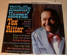TEX RITTER HILLBILLY HEAVEN ALBUM 1961 CAPITOL RECORDS ST-1623