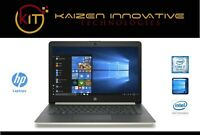 HP 14in Gold Laptop, Intel I7-8550U, 8GB RAM, 256GB SSD, Win10, Intel UHD GPU