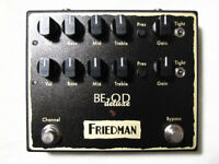 Used Friedman BE-OD Deluxe Overdrive Guitar Effects Pedal