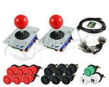 Kit Joysticks boutons arcade 2 joueurs et interface USB