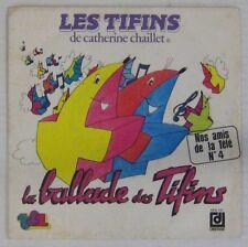 Les Tifins 45 tours Catherine Chaillet TF1