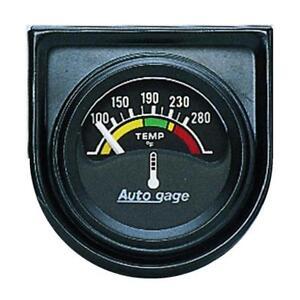 """Auto Meter Coolant Temperature Gauge 2355; Auto Gage 100 to 280¡F 1-1/2"""""""