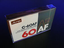 AUREX C-60AF Cassette Tape STILL SEALED NOS MADE IN JAPAN